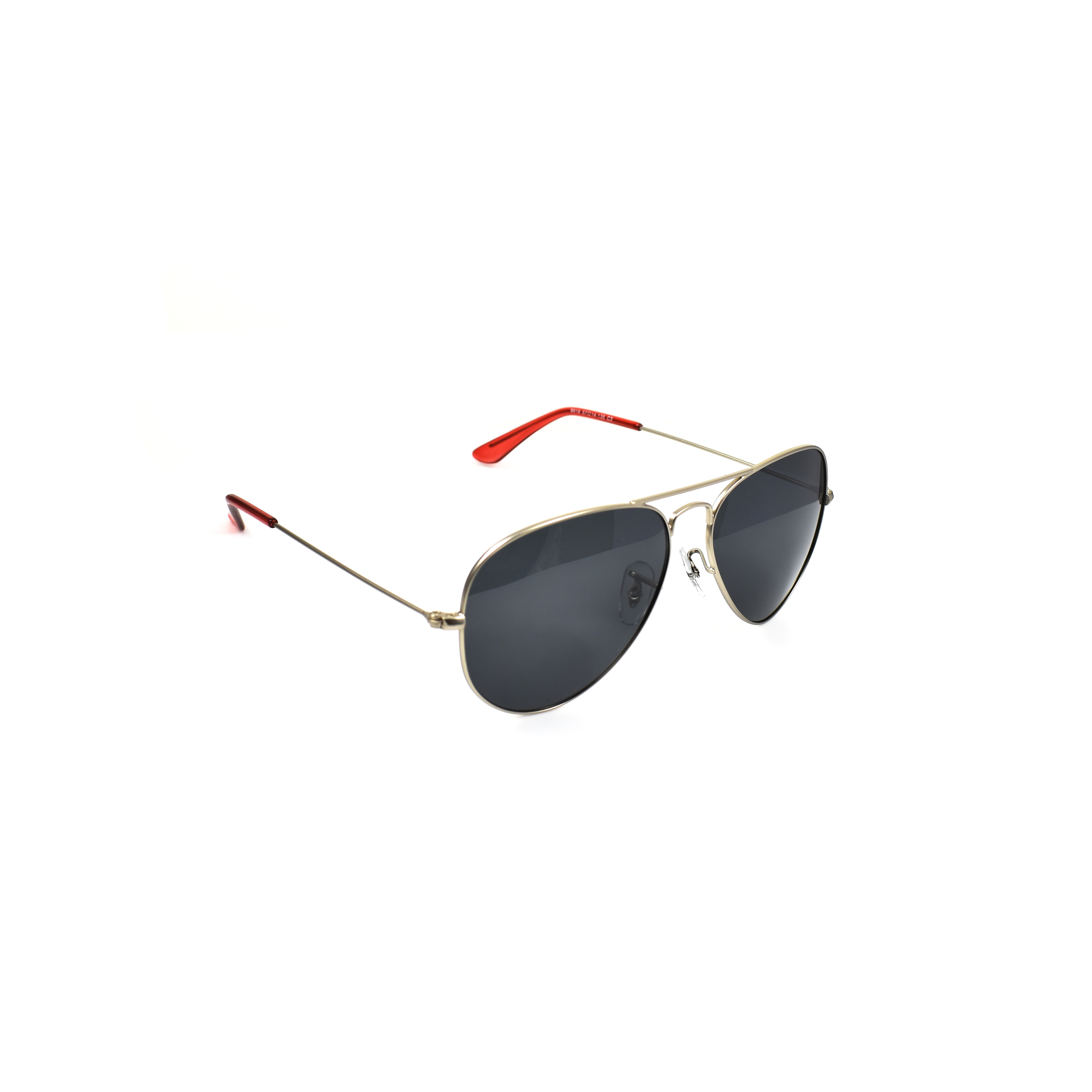 Skye Silver Red Tip  Aviator Polarised
